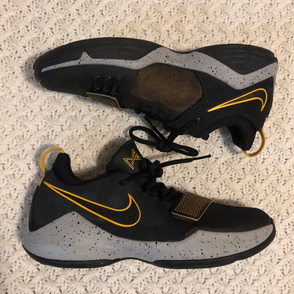 Nike Shoes   Pg 1 Paul George Black And
